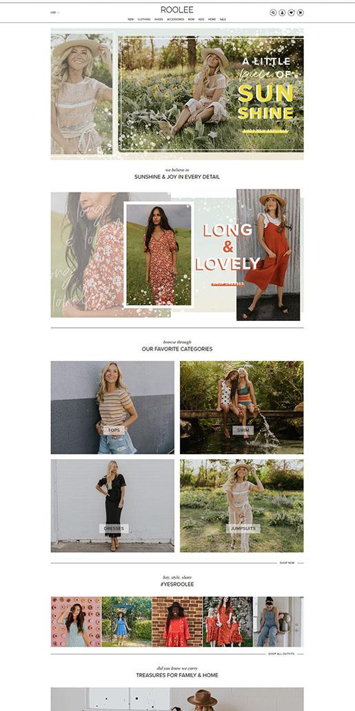 Roolee Website Portfolio