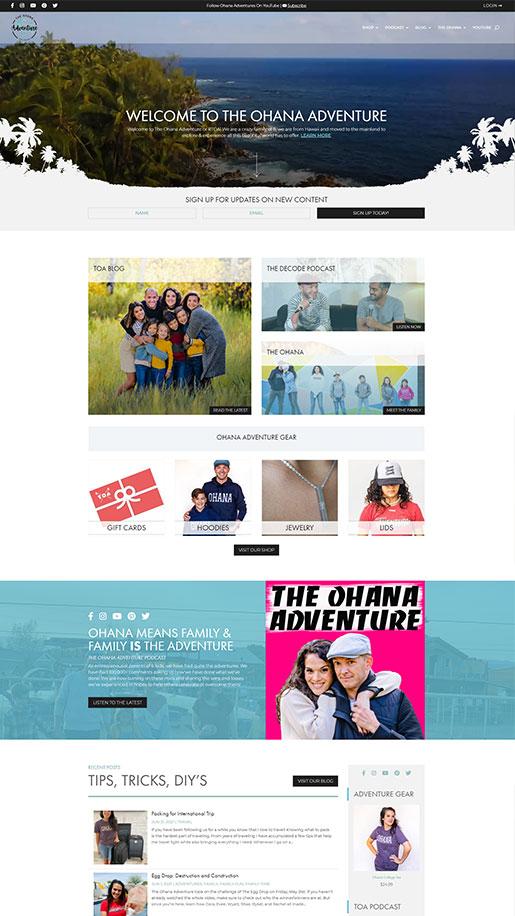 The Robby Row Show Website Portfolio